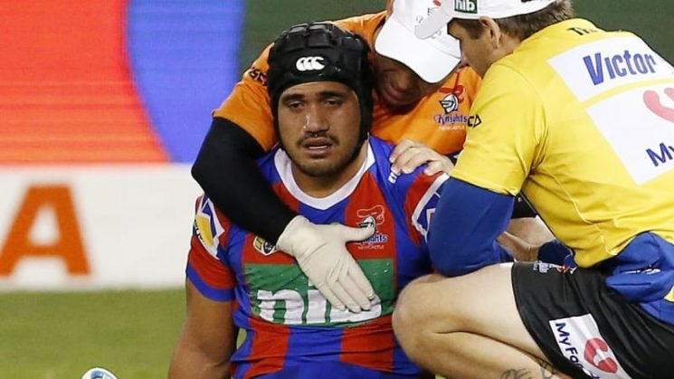 Mata'utia suffers fractured eye socket, but cleared of concussion