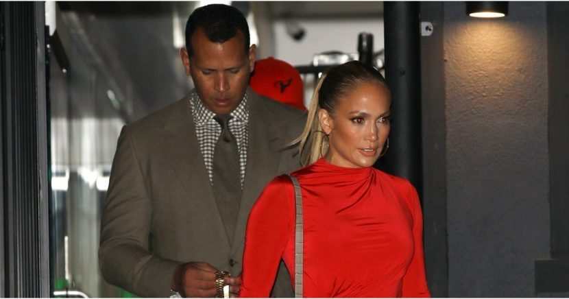 Every Inch of Jennifer Lopez Looks Incredibly Sexy in Her Red-Hot Minidress