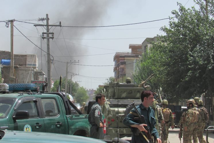 Attackers kill 3 at Afghanistan midwife training center