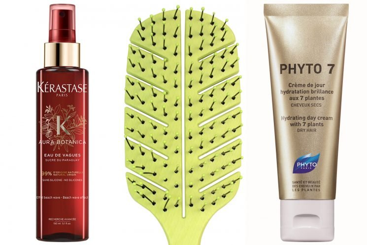 The best new products for easy, air-dried summer hair