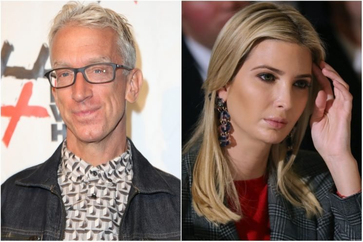 Footage resurfaces of Andy Dick touching Ivanka Trump's legs