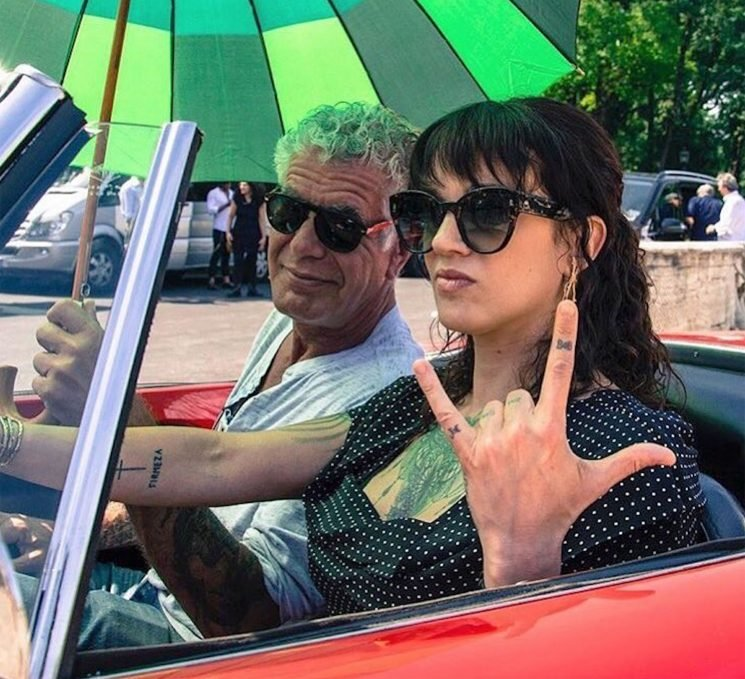 Asia Argento Shares Photo with Anthony Bourdain from the Week Before Chef's Death