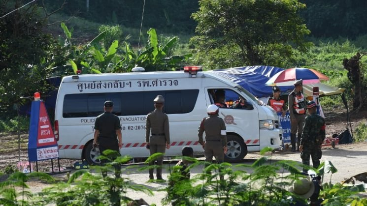 More members from Thai soccer team rescued in second cave rescue operation