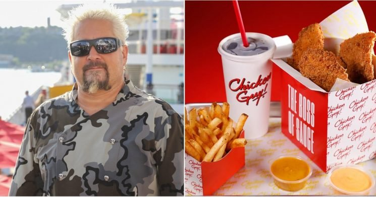 Guy Fieri Is Opening a Chicken Restaurant at Disney World, and Everything Costs $8 or Less
