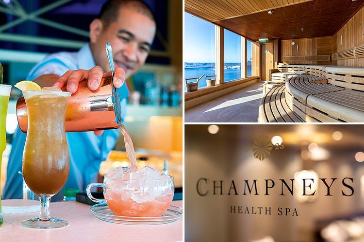 From back massages to a bathtub full of gin – dive into luxury on board the Marella cruise ship