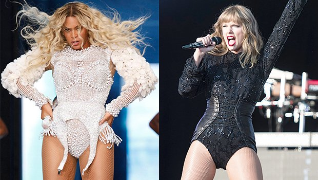 9 Stars Looking Sexy In Bedazzled Bodysuits: Beyonce, Taylor Swift & More