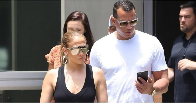 It Looks Like Jennifer Lopez Stole a Pair of ARod's Jeans, and Yes, She Looks Better in Them