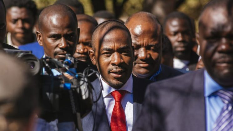 Zimbabwe opposition says it's winning and ready to form government
