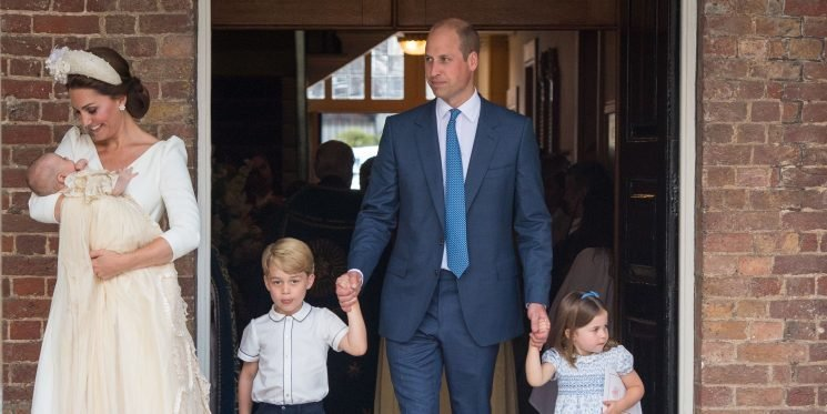 Here's How Prince Louis's Christening Compares to His Older Brother and Sister's