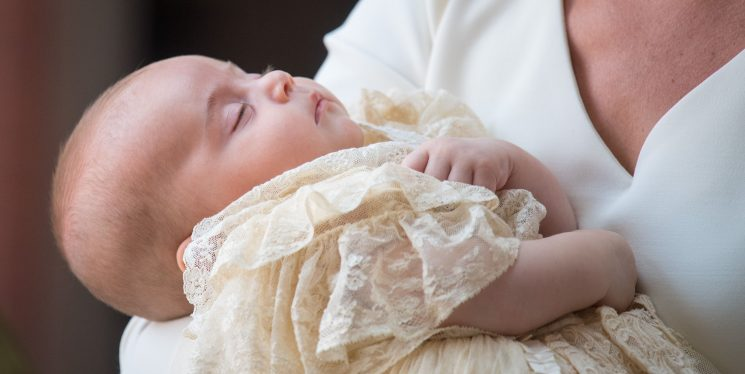 Prince Louis's Christening Is the First Time the Royal Family of Five Has Appeared in Public Together