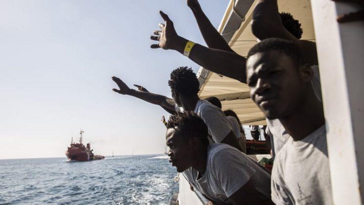 Two migrants die on boat left adrift by Libya coast guard: charity