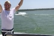 Chip Gaines and 13-Year-Old Son, Drake, Pull of Incredible Stunt Involving a Jet Ski