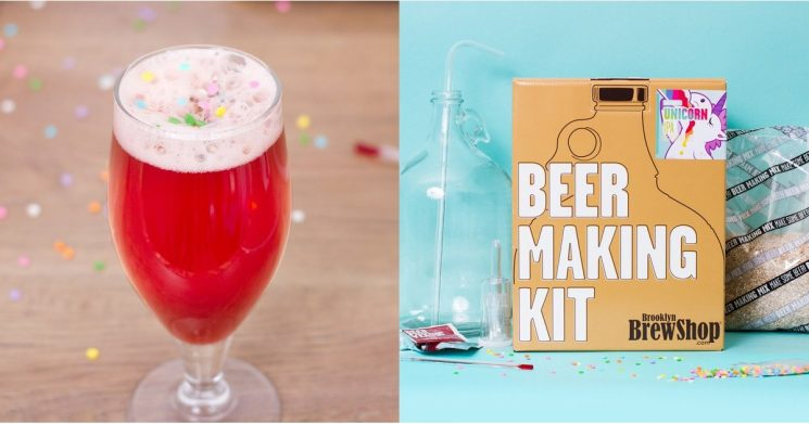 Pink Unicorn Beer Is a Thing — and BRB, Because We Brew Now