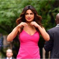 The Thigh-High Slit on Priyanka Chopra's Dress Is Enough to Bring Traffic to a Screeching Halt