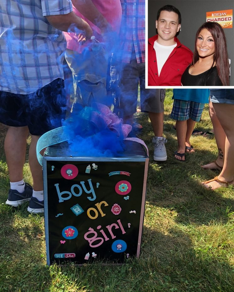 Watch the Potentially Explosive Moment Jersey Shore's Deena Cortese Learned She Is Having a Boy