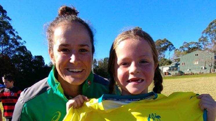 Sevens star's heart of gold blows away girl teased for playing rugby