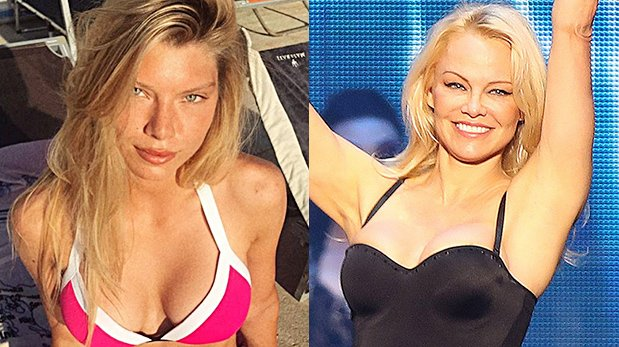 World Cup Finals: Pamela Anderson & More Hot Girlfriends & Wives Of France & Croatia Players