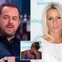 Dani Dyer's worried parents Danny Dyer and Jo Mas threatened to crash Love island set and rescue her after 'cruel' stunt left her in tears