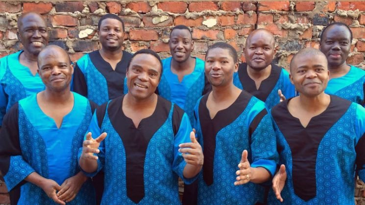 Ladysmith Black Mambazo bring an infectious happiness to the stage