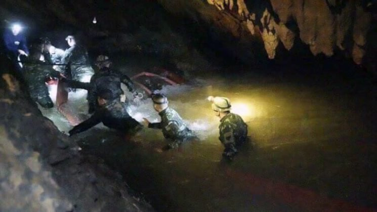 Getting soccer team out of Thai cave safely: an explainer