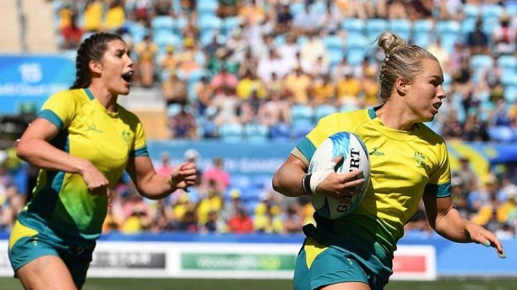 Aussie seven's women cruise into World Cup semis