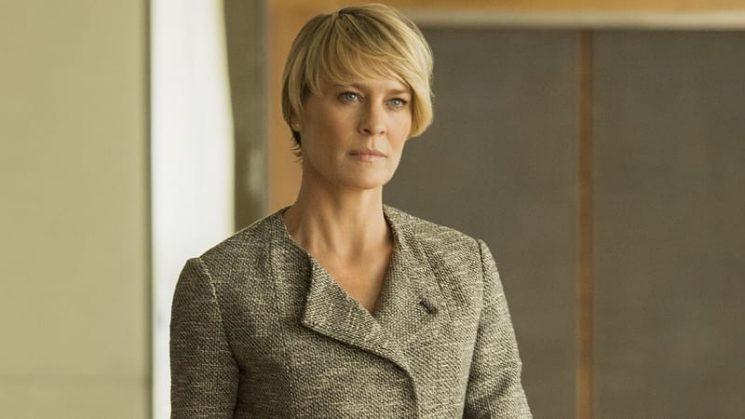 Surprised and saddened: Actress Robin Wright talks Spacey scandal