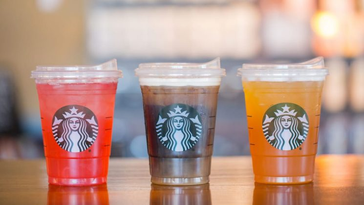 Starbucks Is Banning Plastic Straws & Replacing Them With 'Adult Sippy Cups'