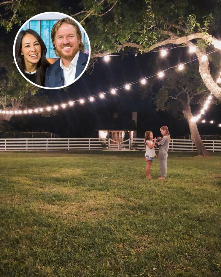 Sisters of the Summer! Chip and Joanna Gaines' Daughters Go 'Stargazing' with Baby Brother Crew