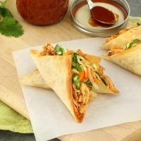 Hungry Girl Shows How to Update Your Chicken Taco Recipe with Crunchy Wonton Wrappers