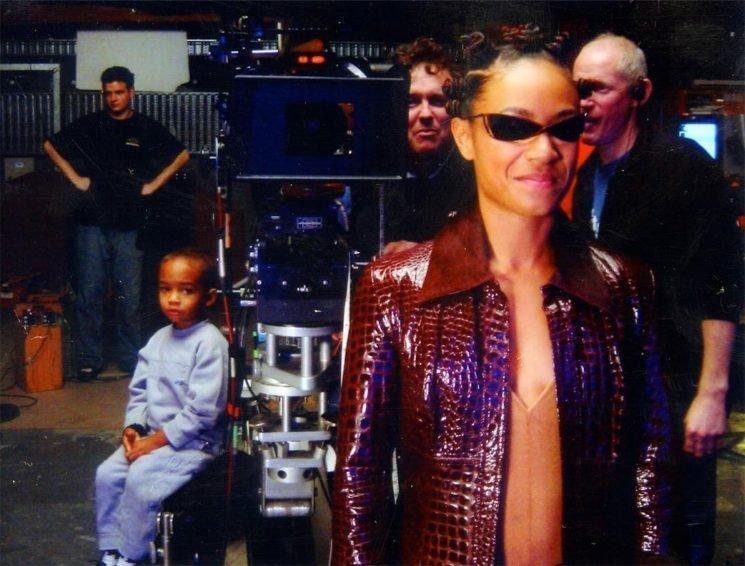 Jada Pinkett Smith Shares Adorable Throwback Shot of Son Jaden on Set of The Matrix Sequel