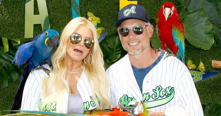 Jessica Simpson Throws Son Ace a Baseball and Parrot Birthday, Gets Freaked Out by Birds – Us Weekly