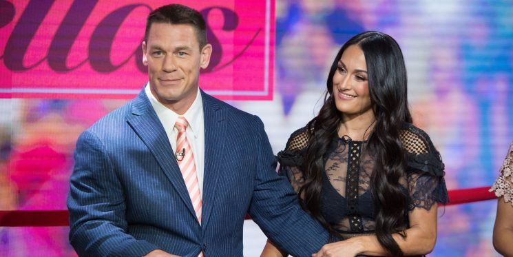 Nikki Bella Joked About Dumping John Cena During Her 'Tonight Show' Appearance