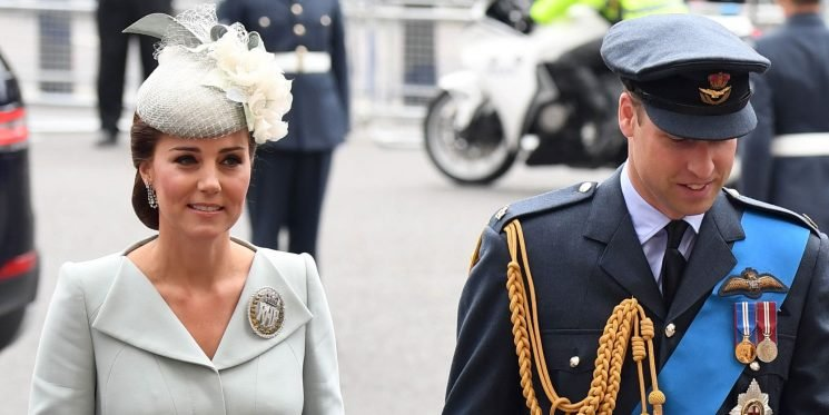 Kate Middleton Makes a Surprise Appearance Wearing McQueen at the RAF 100th Anniversary Celebrations