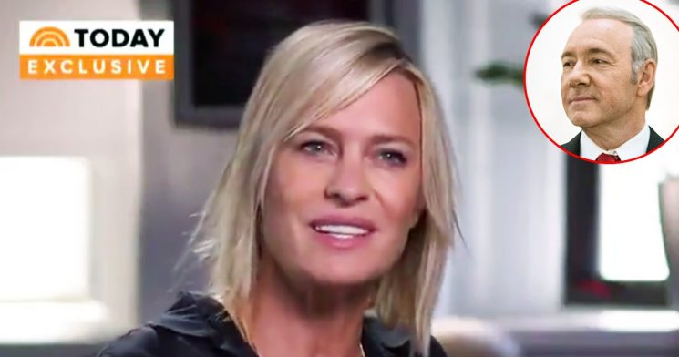 Robin Wright: I Haven't Heard From Kevin Spacey Since Scandal