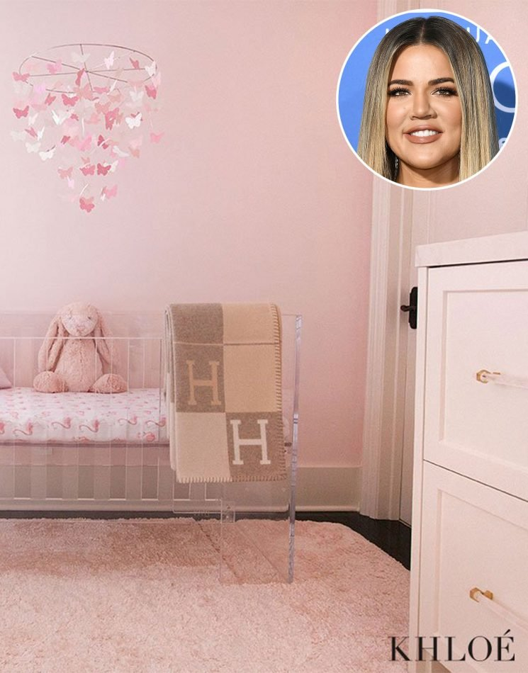 From the Neon Sign to the Flamingo Wallpaper, Shop the Pieces in Khloe Kardashian's Daughter True's Nursery (Plus, Get the Look for Less)