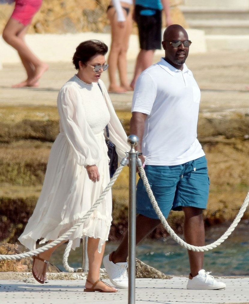 Kris Jenner and Boyfriend Corey Gamble Hold Hands on Romantic Vacation in the South of France