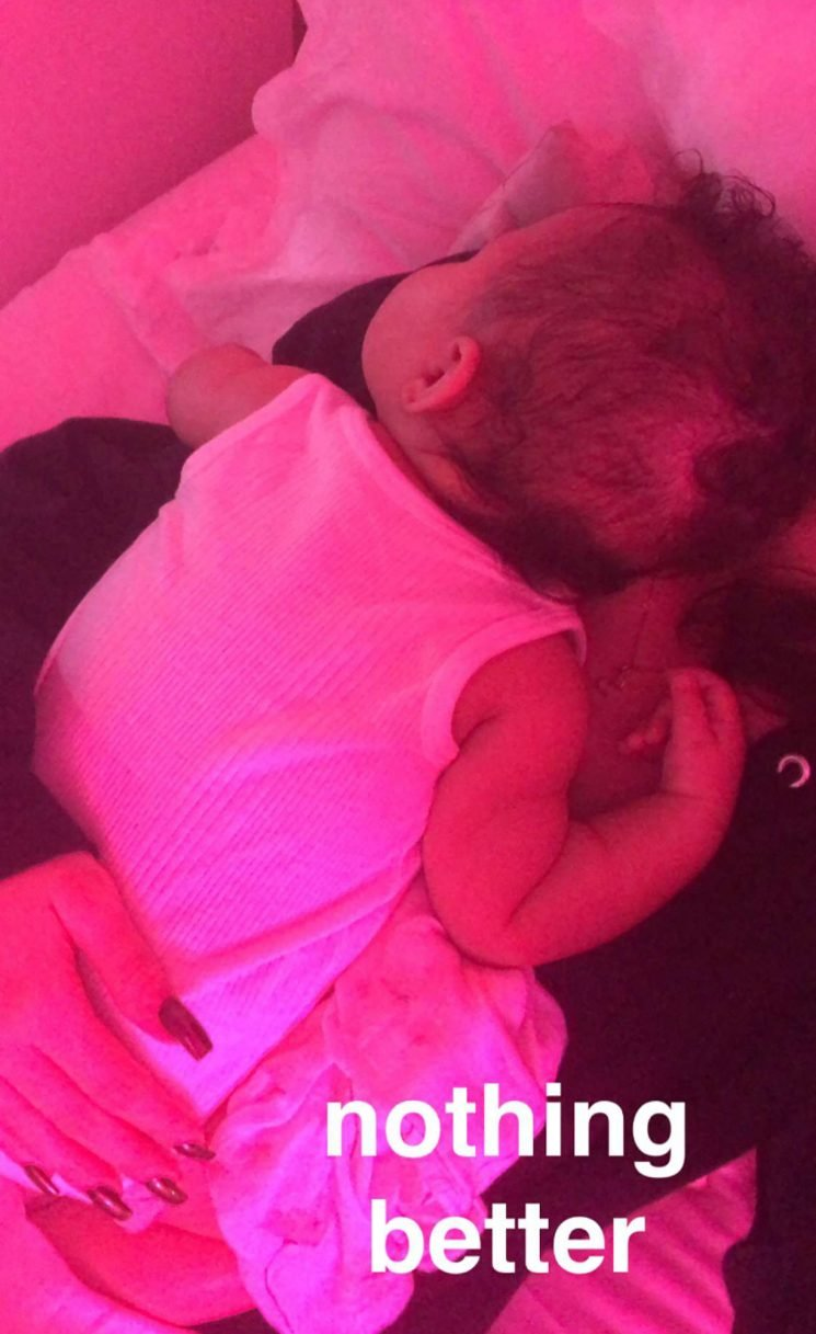 Kylie Jenner Says There's 'Nothing Better' than Holding Her Daughter Stormi: 'My Little Love'