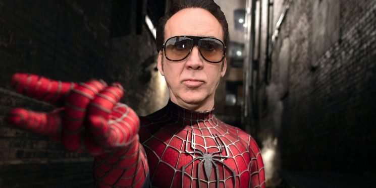 Nicolas Cage has been cast as Spider-Man