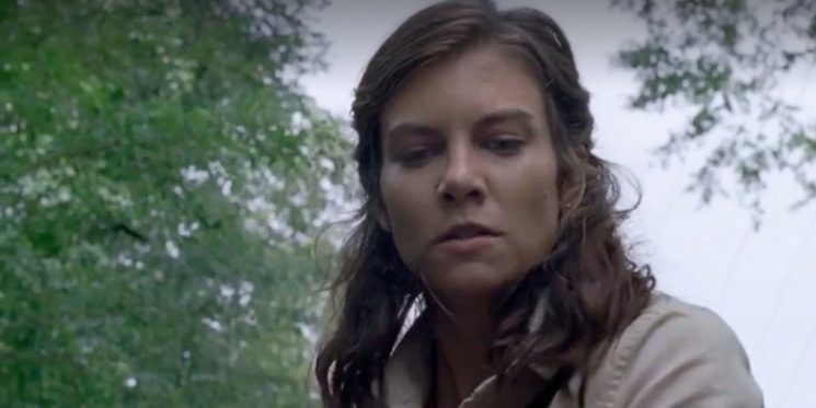 The Walking Dead's Lauren Cohan mocks Maggie's overly long pregnancy