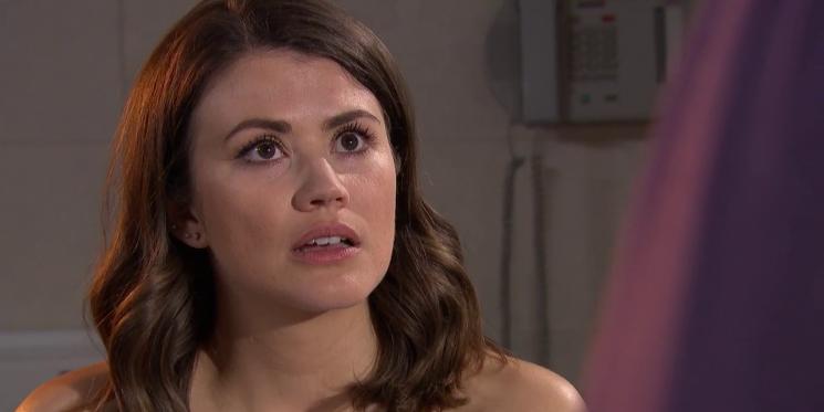 Hollyoaks' Ellie Nightingale and Sami Maalik to clash over her pregnancy