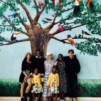 Madonna and All Six of Her Kids Visit the Malawi Hospital She Built 1 Year After Its Opening: See the Photo!