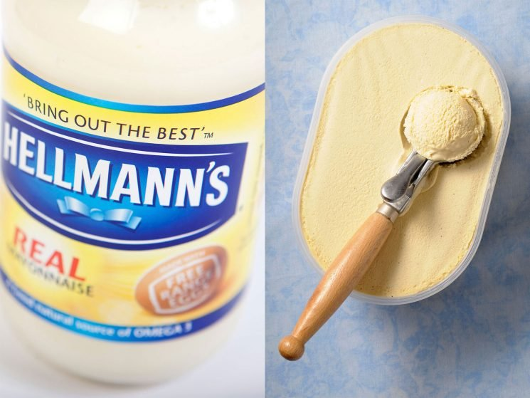 Mayonnaise Ice Cream Exists and It's Very Controversial