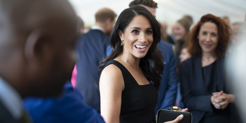 Meghan Markle Just Wore a Dress by the Designer Who Allegedly Called Her Wedding Gown a Rip-Off