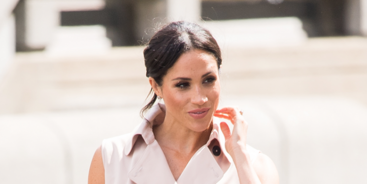 Did Meghan Markle Just Break Royal Beauty Protocol With Her Pink Manicure?