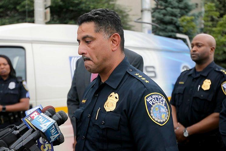 17-year veteran cop shot and killed, suspect in custody