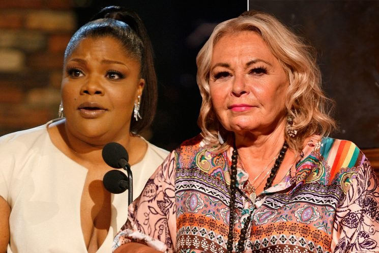 Mo'Nique defends 'sister in comedy' Roseanne Barr