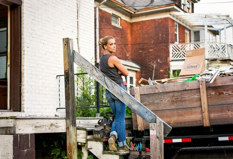Rehab Addict's Nicole Curtis Talks Being a 'Harda– Woman Driving a Bobcat' and a Devoted Mom
