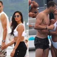 Nicole Scherzinger and younger boyfriend light up Saint Tropez