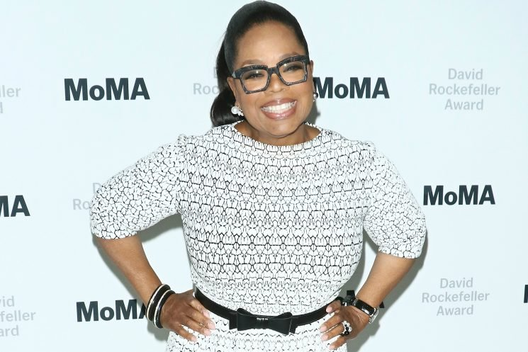 Oprah Winfrey has World Cup fever