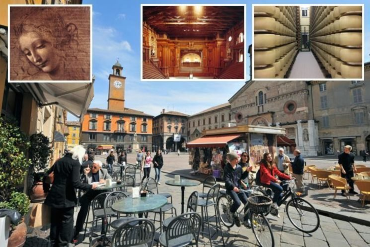 Experience big cheeses, old hams and brunch by the pool in Italian food heaven on a holiday in Parma